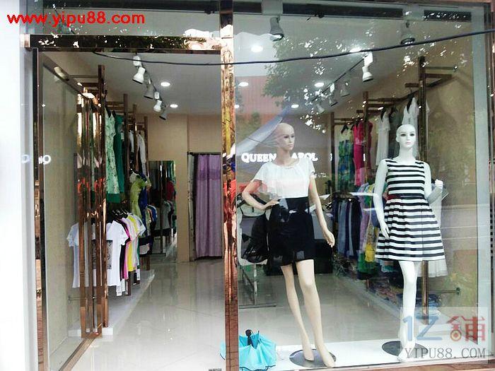 主干道35㎡服装店可空转做其他行业