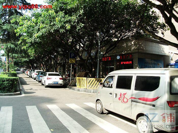 商业街临街方正旺铺可空转,行业不限