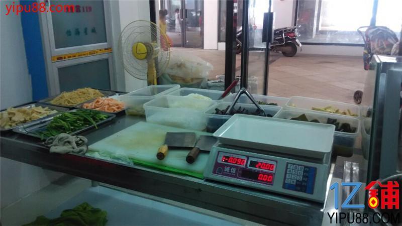 怡海星城40㎡卤菜小吃夜宵店转让(可教技术)