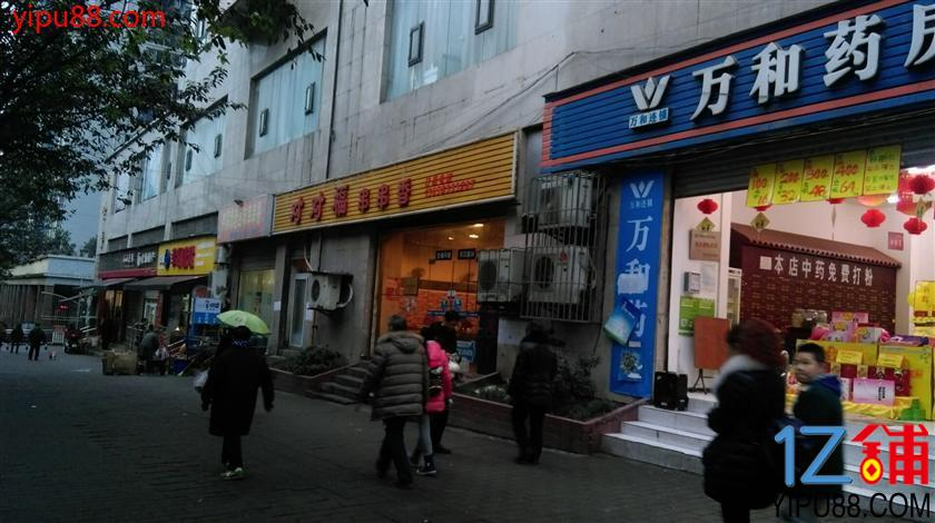 江北区盘溪140㎡餐饮旺铺见钱就转,双门头