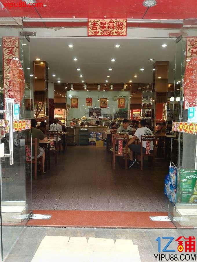 营业中餐厅客流量大人气旺  旺铺