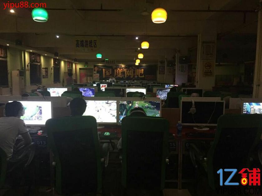 平湖大皇公商业中心网吧急转
