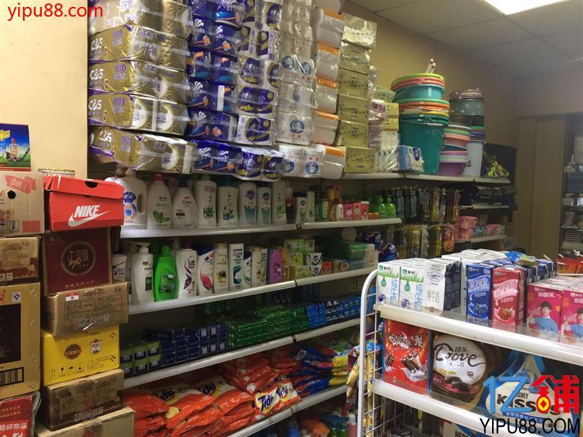 小区路口拐角60㎡烟酒超市24.8万转让