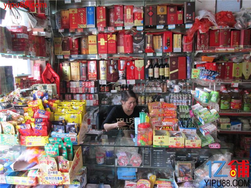 夜宵街临街110㎡双门头超市转让