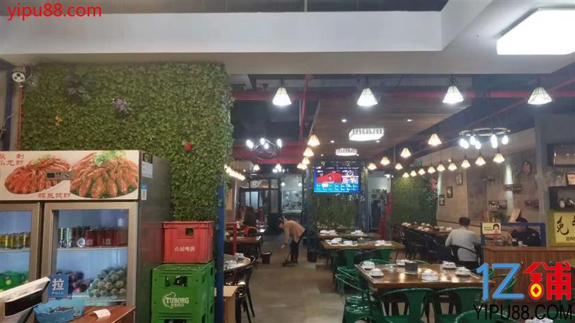 江北建新东路临街300平米餐饮店转让