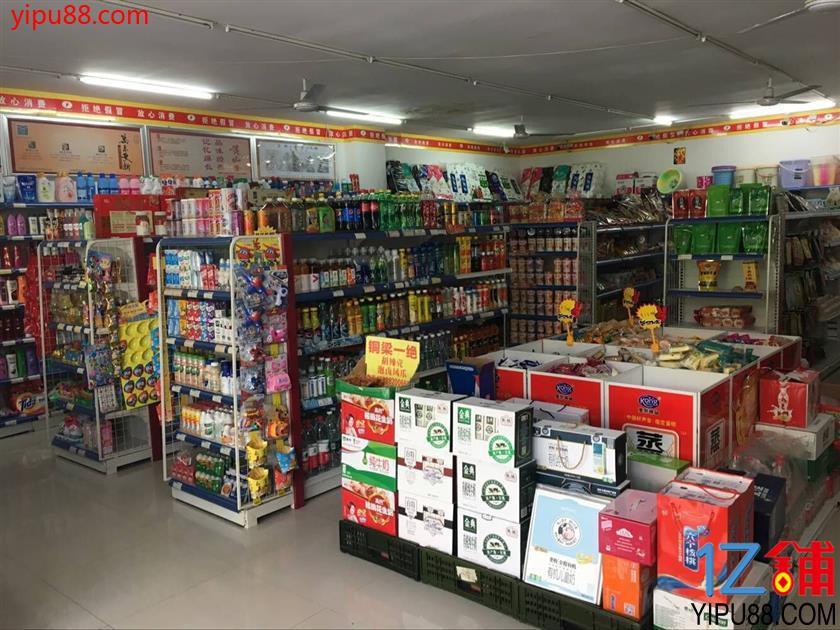 小区大门口第一家品牌便利店+茶楼急转