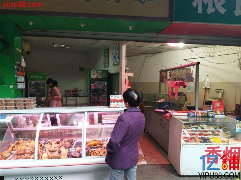 社区菜市场转角位置旺铺急转