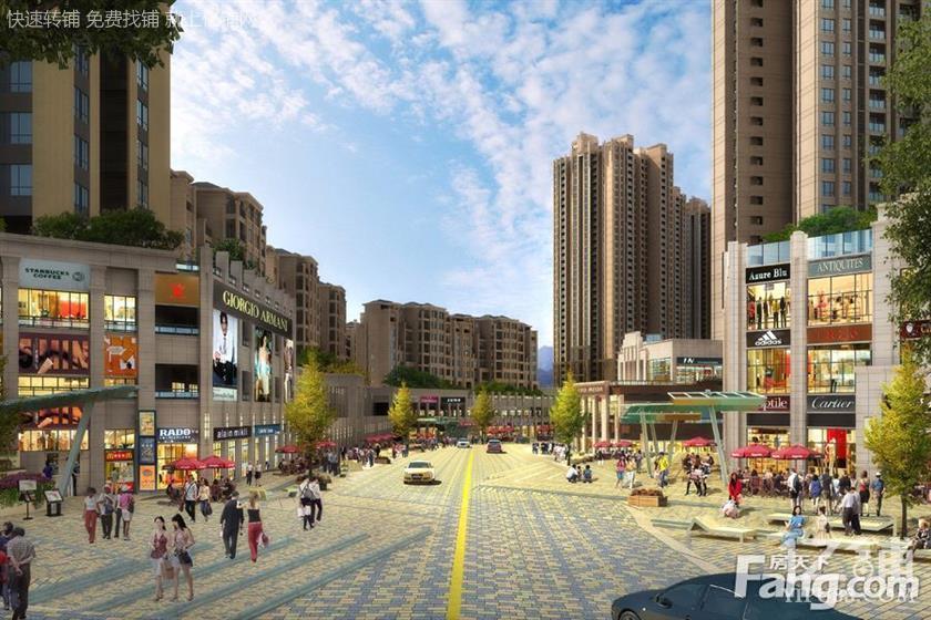 杨家坪商圈 北大资源商业街一手门面回报8%64平