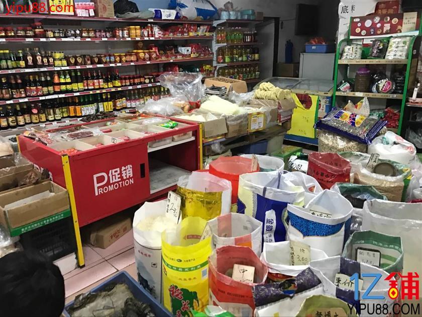 菜市场门面100㎡日营3000+粮油店转让