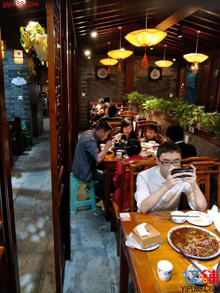 解放碑国泰广场全新中餐店急转