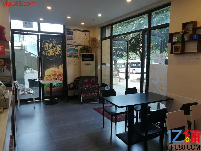 两路公交站旁60²快餐店转让(可空转)