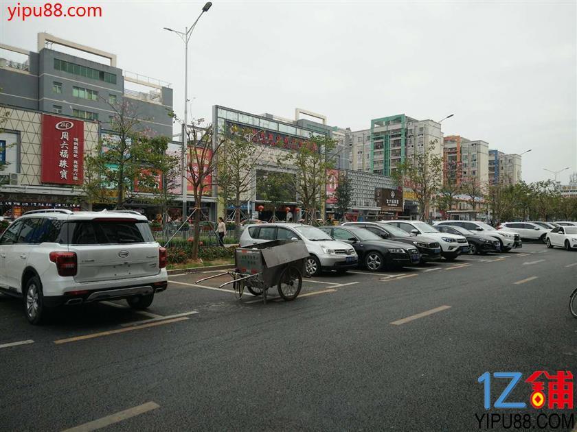 龙岗义乌小商品批发城58平米临街面馆低价转让