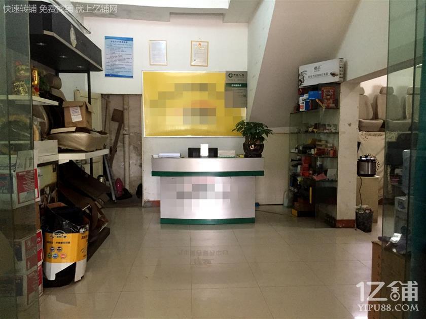 十字路口临街140㎡双门头独家汽修店18.8万转让