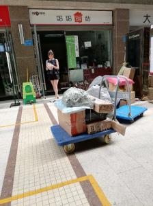 万象城成熟社区盈利快递店转让