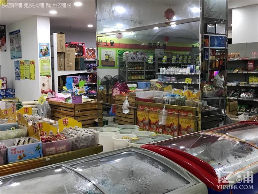 长沙大道大型高档社区档口430㎡生活生鲜超市转让