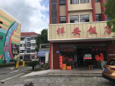 一楼  沿街重餐饮转让(保证盈利中饭店)