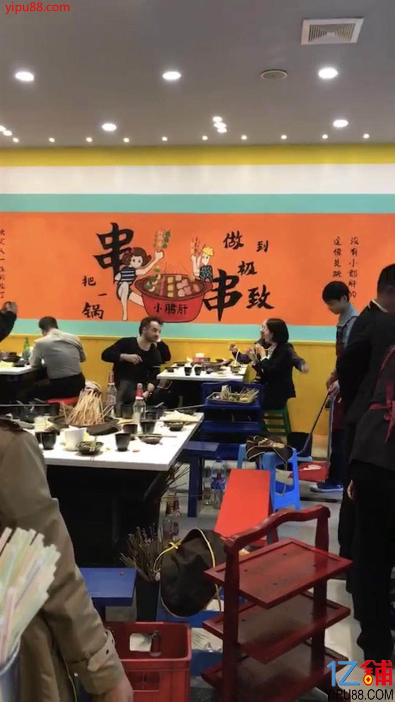 龙湖紫都城餐饮三通旺铺转让(可空转)