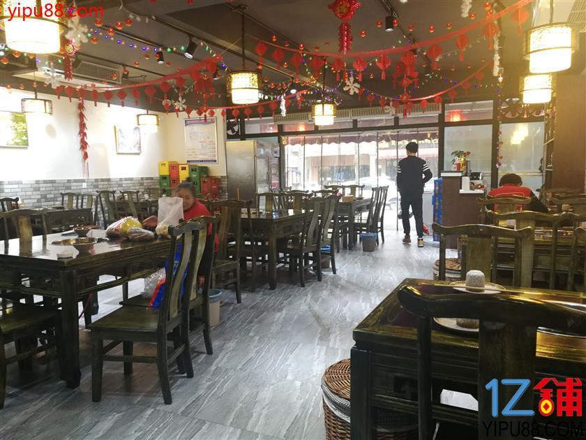大竹林餐饮一条街180平米旺铺转让