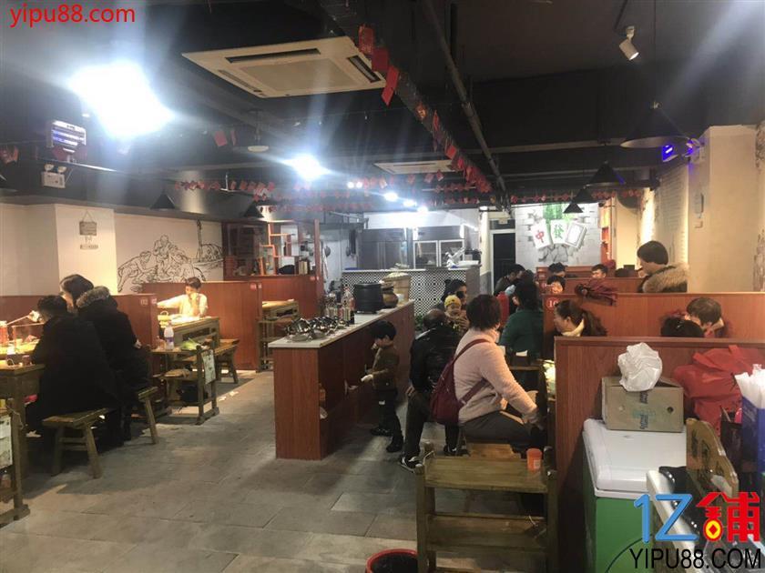 餐饮街精装火锅店13万急转(可外摆)