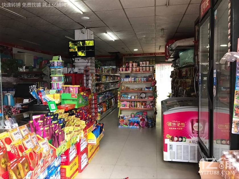 圭塘二小区110㎡蔚然锦和超市优价转让(可空转)