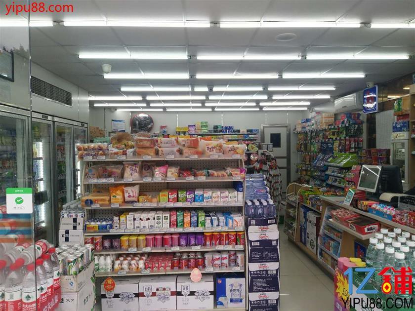 龙头寺汽车站出入口超市急转