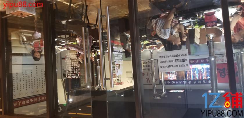 龙湖时代天街带坝子餐饮门面转让(可空转行业不限)
