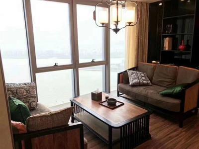 保利国际广场  278平豪华装修带家具  优惠出租