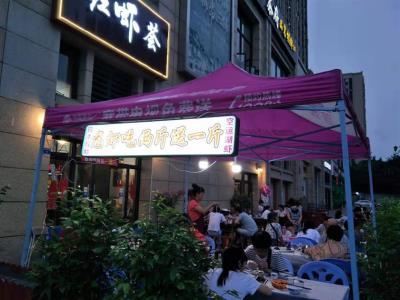 青羊 成都西站+万人小区 餐饮旺铺低价转让(大外摆)