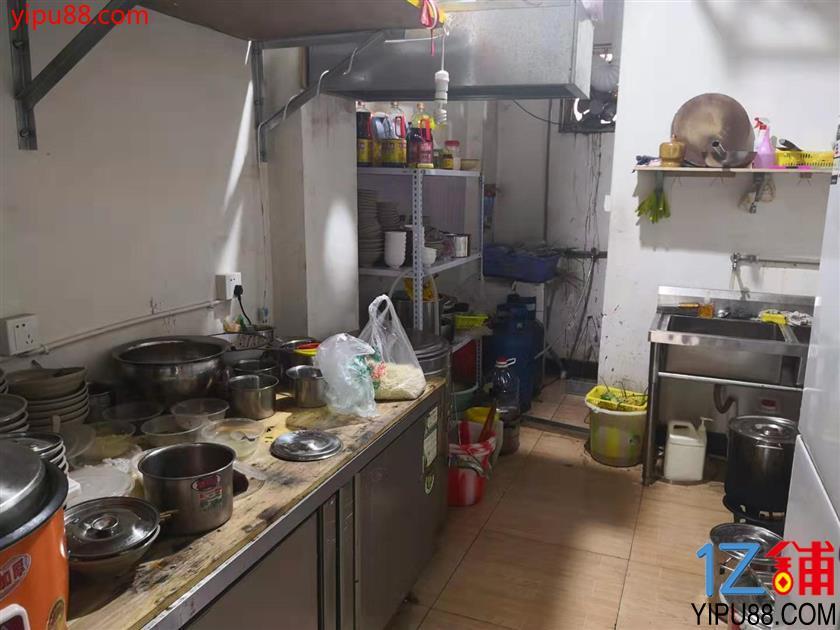 锦江 万人小区+写字楼商圈,46㎡小吃店白菜价甩!