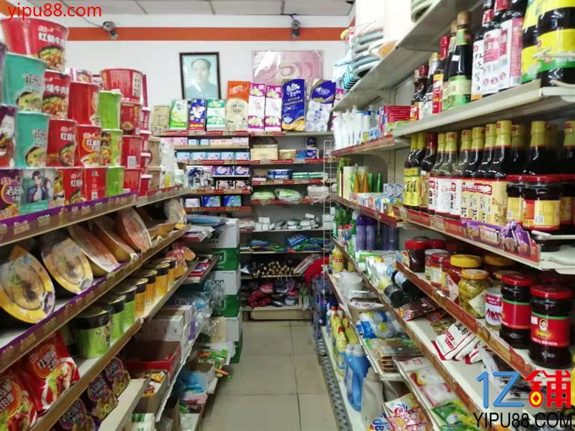 大型商场附近60㎡超市门面转让