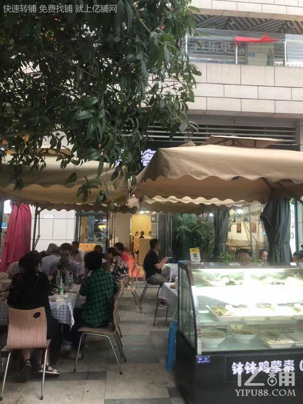 万象城写字楼下面餐饮店8.5万转让(有天然气,加阁楼可以就餐)