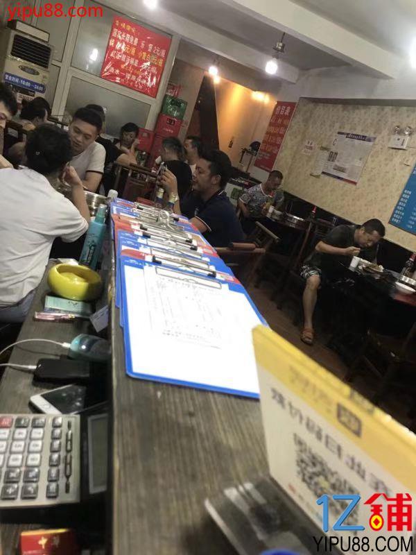 大型成熟社区三通餐饮店低价急转