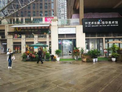商业街转角门面奶茶店+超长外摆区急转