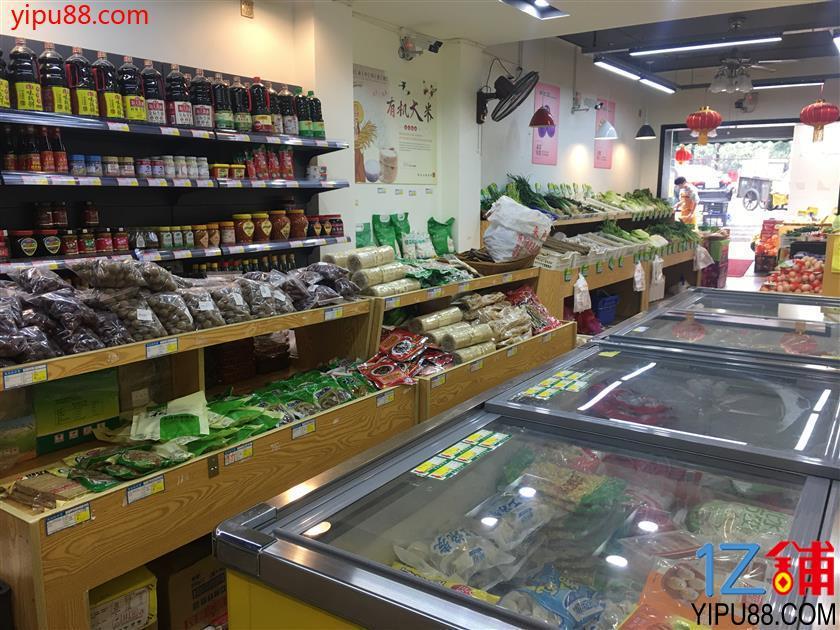 三个成熟小区围绕170㎡生鲜超市转让!