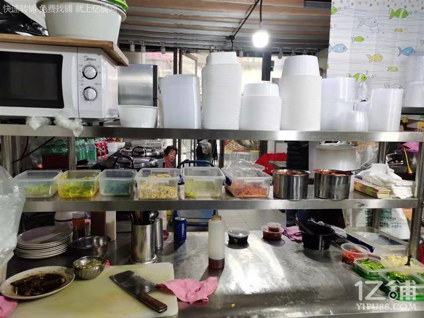 高新天府四街写字楼+小区餐饮小吃店转让