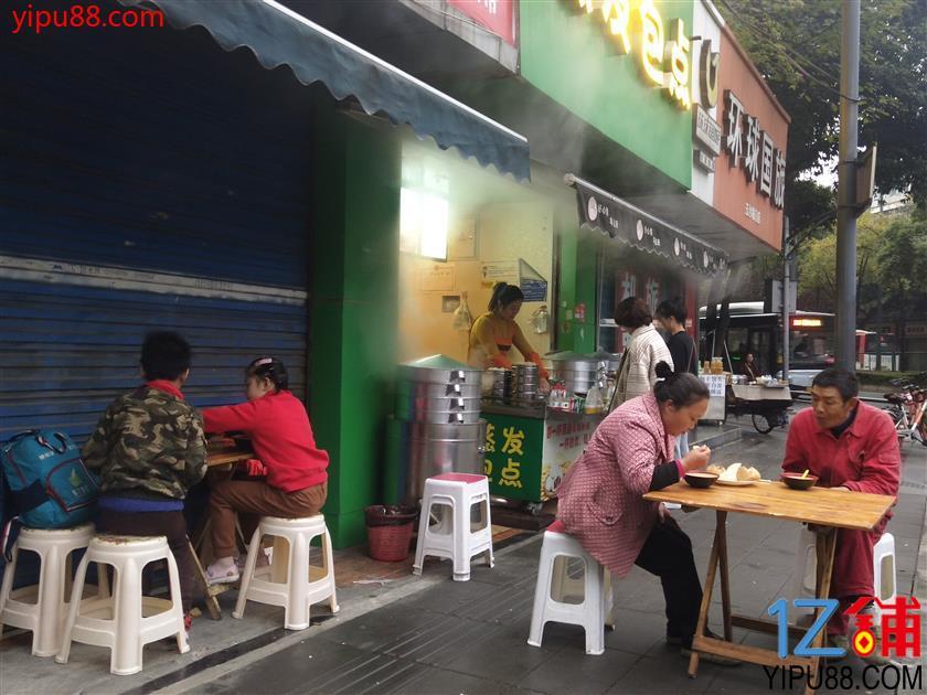 临街转角门面 20平米  适合早餐、小吃、冷饮无转让费!!