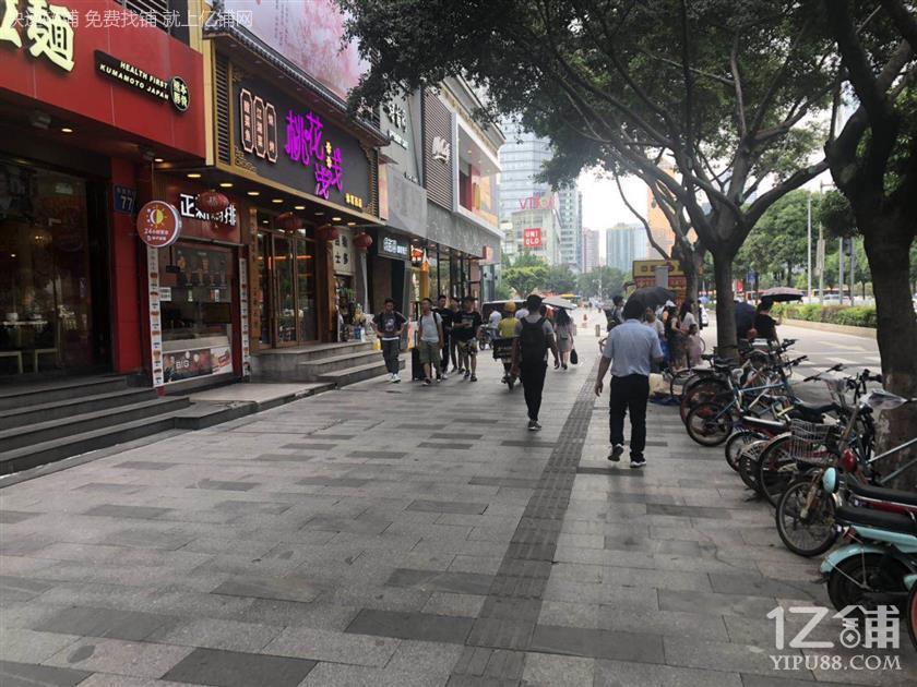 荔湾长寿路临街50平旺铺,带煤气,可重餐饮,客流大