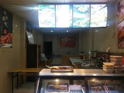 四个小区十字路口52平卤菜店转让