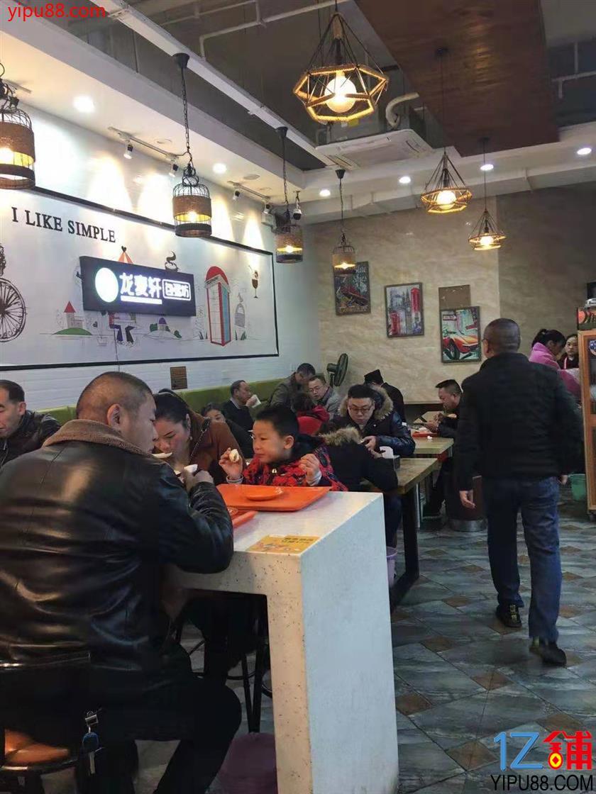 石桥铺盈利餐饮店转让(6方气,看店勿扰员工)