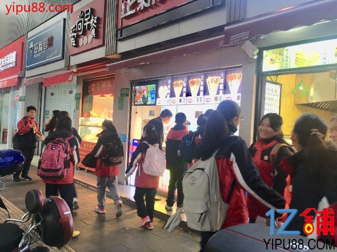 公交站、小区门口旺铺急转(重餐饮)