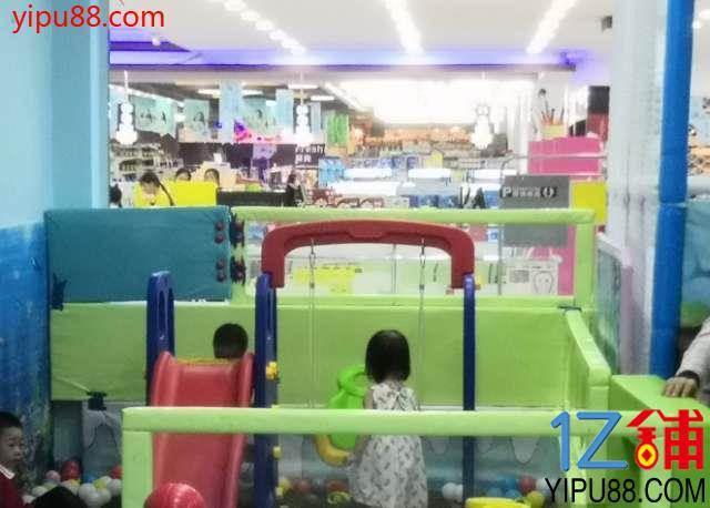 儿童乐园大型超市一体临街旺铺
