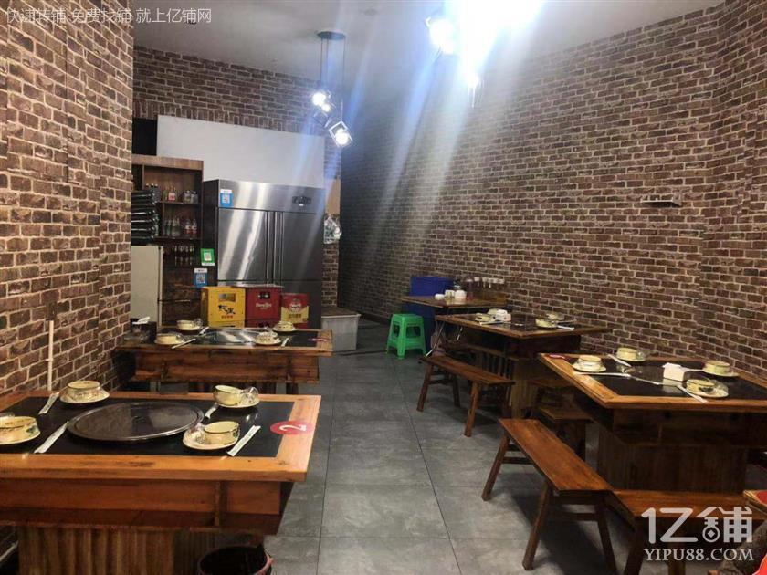 写字楼+公寓62㎡餐饮店转让