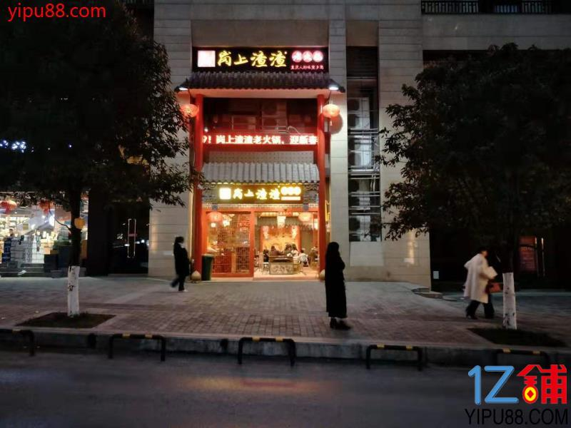 十方天然气装修精美临街火锅店急转