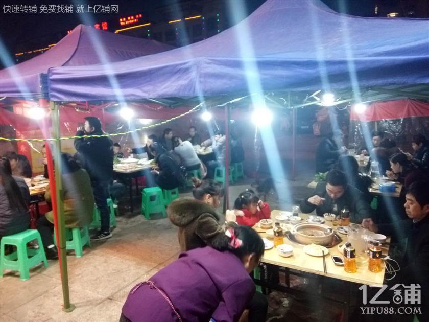 公交车站三通120㎡餐饮店转让