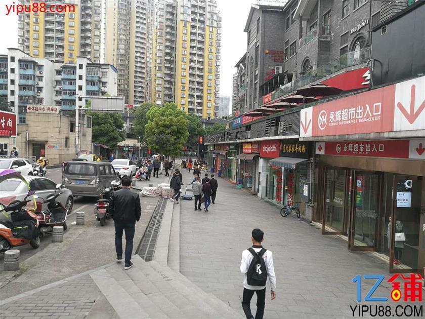 商圈永辉超市旁绝佳好位置临街餐饮店转让