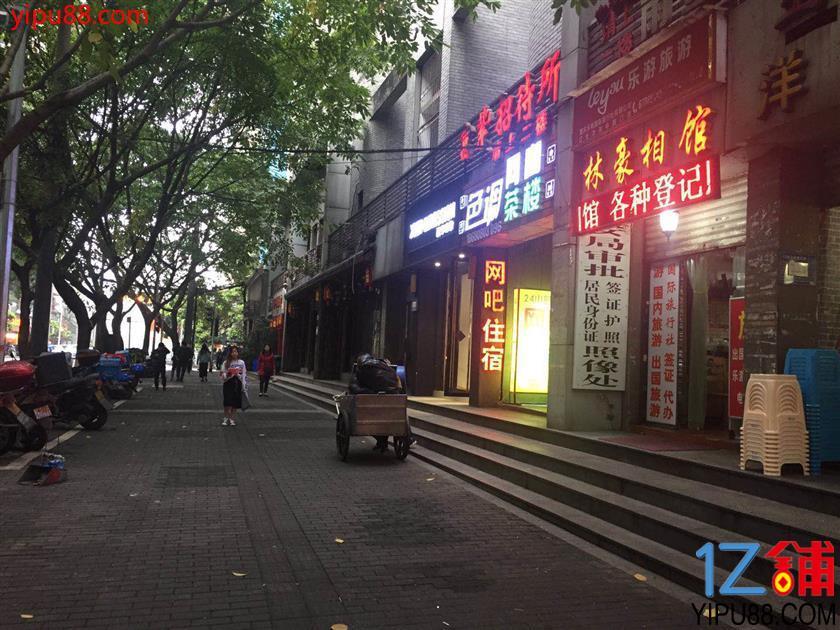 江北十字路口餐饮店转让(可外摆)