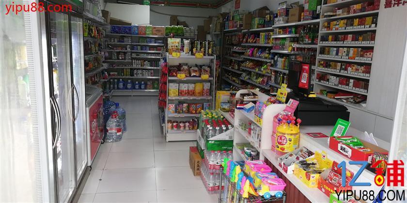小区门口第一家品牌便利店急转