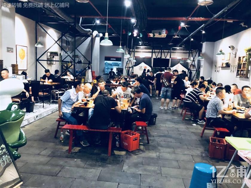 大型社区+写字楼230㎡餐饮店转让