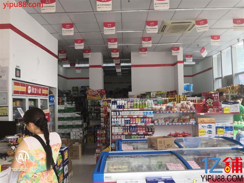 (转让) 温江 转角门面 盈利超市 优转  可空转