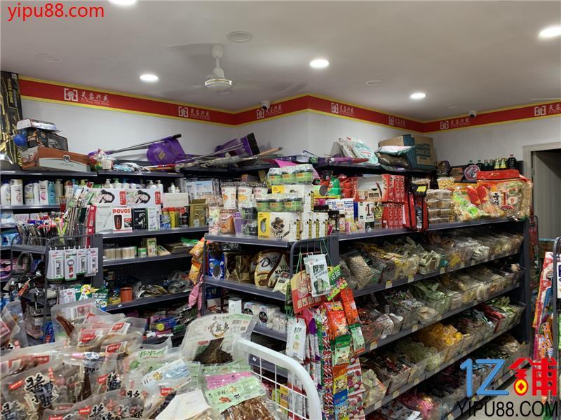 成熟高档小区大门口58㎡超市转让